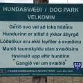 Blómsturvellir er fallegt útivistasvæði hundaeigenda á Akureyri