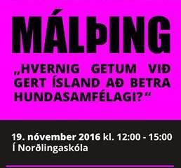 Dagskrá málþings F.Á.H. 19. nóvember